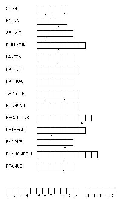Puzzle des